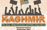 [International Seminar] Kashmir: The Issue, Global Scenario and Policy Imperatives